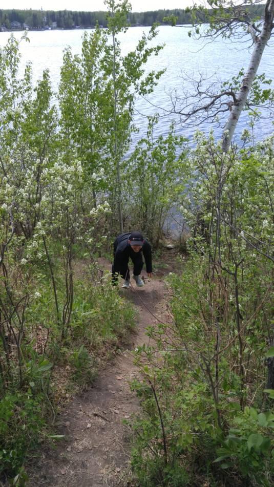 Ev hiking